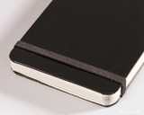 Leuchtturm1917 Reporter Notebook - A6, Lined - Black - Closure