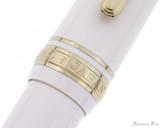 Sailor Pro Gear Slim Mini Fountain Pen - Beni White, Medium-Fine Nib -