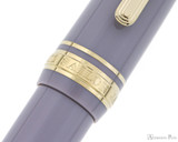 Sailor Pro Gear Slim Mini Fountain Pen - Ayur Gray, Medium-Fine Nib - Trimband