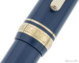 Sailor Pro Gear Slim Mini Fountain Pen - Ayur Blue, Medium-Fine Nib - Trimband