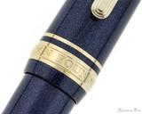 Sailor Pro Gear Slim Mini Fountain Pen - Night Blue, Medium-Fine Nib - Trimband
