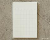 Midori MD Undated Diary Sticker - Open