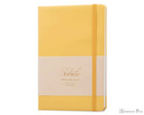 Colorverse Nebula Premium Notebook - A5, Lined - Cozy Yellow
