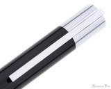 Lamy Scala Rollerball - Piano Black - Clip