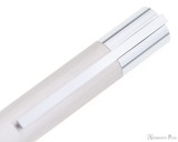 Lamy Scala Fountain Pen - Brushed Stainless Steel - Clip
