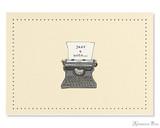 Peter Pauper Press Notecards - 5 x 3.5, Typewriter