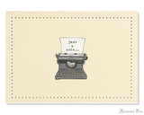 Peter Pauper Press Notecards - 5 x 3.5, Typewriter