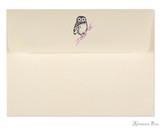 Peter Pauper Press Notecards - 5 x 3.5, Owl Portrait - Envelope