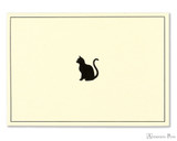 Peter Pauper Press Notecards - 5 x 3.5, Black Cat