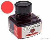 J. Herbin Rouge Caroubier Ink (30ml Bottle)