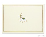 Peter Pauper Press Notecards - 5 x 3.5, Llama