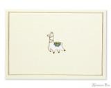 Peter Pauper Press Notecards - 5 x 3.5, Llama