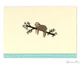 Peter Pauper Press Notecards - 5 x 3.5, Sloth
