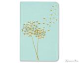 Peter Pauper Press Jotter Mini Notebooks - Dandelion Wishes (3 Pack) - Blue Book
