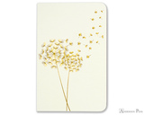 Peter Pauper Press Jotter Mini Notebooks - Dandelion Wishes (3 Pack) - White Book