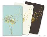 Peter Pauper Press Jotter Mini Notebooks - Dandelion Wishes (3 Pack)