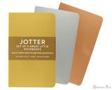Peter Pauper Press Jotter Mini Notebooks - Foil (3 Pack)