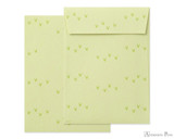 Midori Letter Writing Set with Animal Stickers - Goat -Envelopes