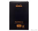 Rhodia No. 16 Wirebound Notebook - A5, Graph - Black back cover