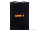 Rhodia No. 16 Wirebound Notebook - A5, Graph - Black