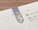 Midori Bookmarker Clip - Weather - Clipped