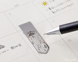 Midori Bookmarker Clip - Weather - Stencil