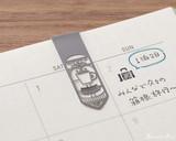Midori Bookmarker Clip - Daily Life - Clipped