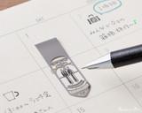 Midori Bookmarker Clip - Daily Life - Stencil