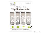 Midori Bookmarker Clip - Daily Life