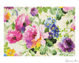 Peter Pauper Press Notecards - 5 x 3.5, Peony Garden