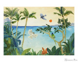 Peter Pauper Press Notecards - 5 x 3.5, Tropical Paradise