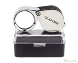 Anderson Pens 30x Magnifying Loupe Open on Box