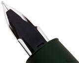 Lamy Aion Fountain Pen - Dark Green - Feed