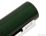 Lamy Aion Fountain Pen - Dark Green - Imprint