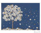 Peter Pauper Press Notecards - 5 x 3.5, Falling Blossoms