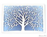 Peter Pauper Press Notecards - 5 x 3.5, Laser-Cut Tree of Life