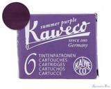 Kaweco Summer Purple Ink Cartridges (6 Pack)
