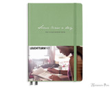Leuchtturm1917 Some Lines A Day Memory Book - A5, Lined - Sage