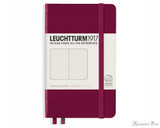 Leuchtturm1917 Notebook - A6, Dot Grid - Port Red