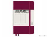 Leuchtturm1917 Notebook - A6, Dot Grid - Port Red