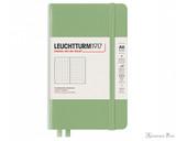 Leuchtturm1917 Notebook - A6, Dot Grid - Sage
