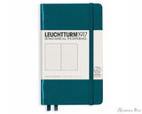 Leuchtturm1917 Notebook - A6, Dot Grid - Pacific Green