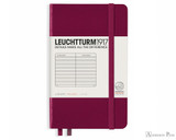 Leuchtturm1917 Notebook - A6, Lined - Port Red