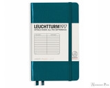 Leuchtturm1917 Notebook - A6, Lined - Pacific Green