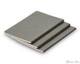 Lamy Softcover Booklet - A6, Lined - Grey (3 Pack)