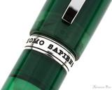 Visconti Homo Sapiens Demo Stones Fountain Pen - Emerald - Trimband