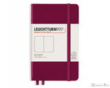 Leuchtturm1917 Notebook - A6, Blank - Port Red
