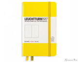 Leuchtturm1917 Notebook - A6, Blank - Lemon