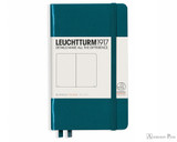 Leuchtturm1917 Notebook - A6, Blank - Pacific Green