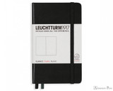 Leuchtturm1917 Notebook - A6, Blank - Black